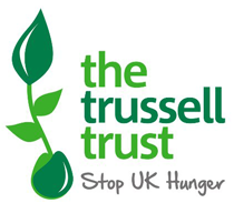 Logo for The Trussell Trust, a UK anti-poverty charity